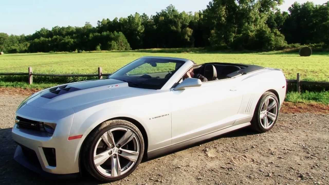 2013 Chevrolet Camaro Zl1 Convertible Drive Time Review