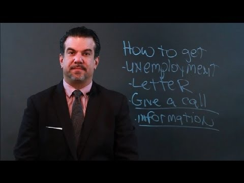 How to Get an Unemployment Letter : Taxes & Unemployment