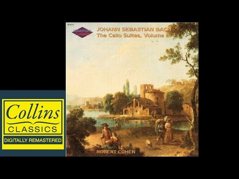 (FULL ALBUM) Bach - Cello Suites No.1, 3 and 5 - Prelude - Robert Cohen