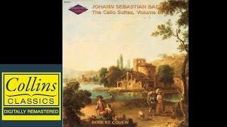 Full Album Bach Cello Suites No 1 3 And 5 Prelude Robert Cohen