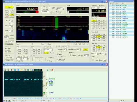 5K0T on 160m received by OY3JE