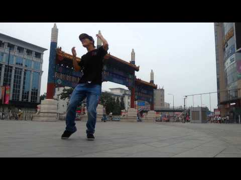 The Melbourne shuffle dance - China Beijing BJS - Rbac 斌仔