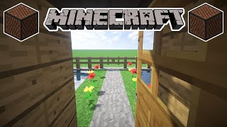 ♪ [FULL SONG] MINECRAFT Outside by Calvin Harris ft. Ellie Goulding in Note Blocks (Wireless) ♪