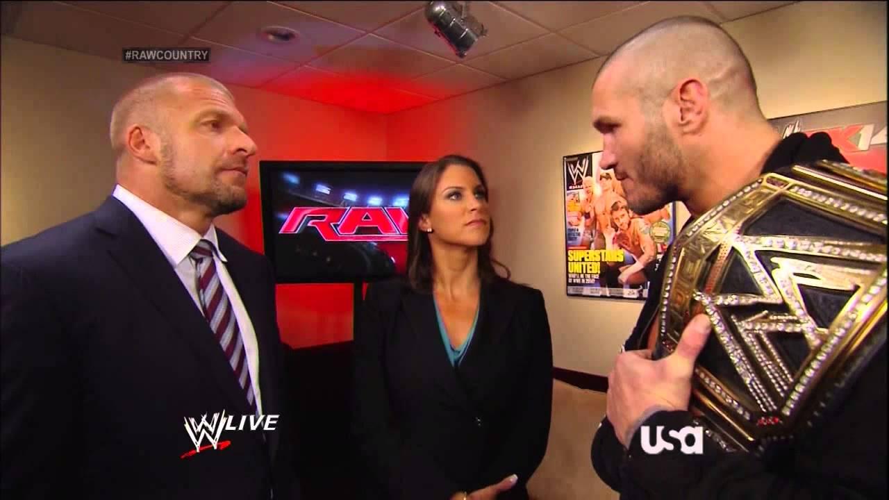 Randy Orton And Stephanie Mcmahon Triple H  Stephanie McMahon