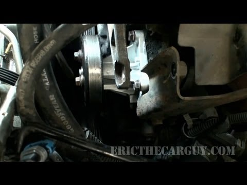 2002 Cavalier Water Pump Replacement (Part 2) - EricTheCarGuy