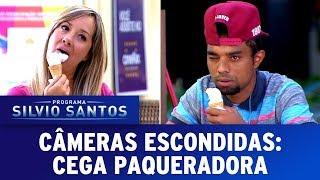 Cega Paqueradora - Blind Prank | Câmeras Escondidas (08/10/17)