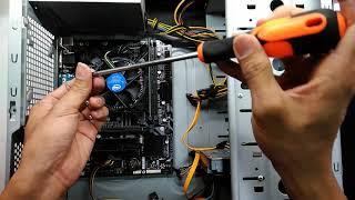 Intel Pentium Gold G5400 Gigabyte H310M-S2P Kingston DDR4 4GB Budget office PC