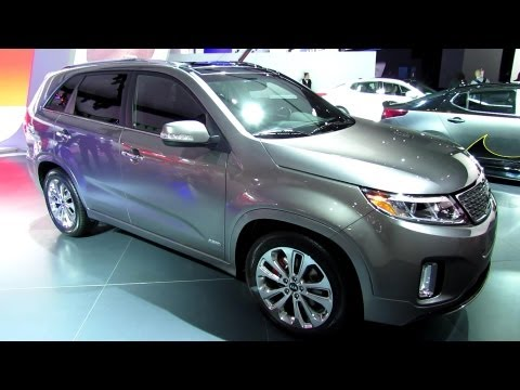 2014 KIA Sorento SXL - Exterior and Interior Walkaround - 2013 Detroit Auto Show