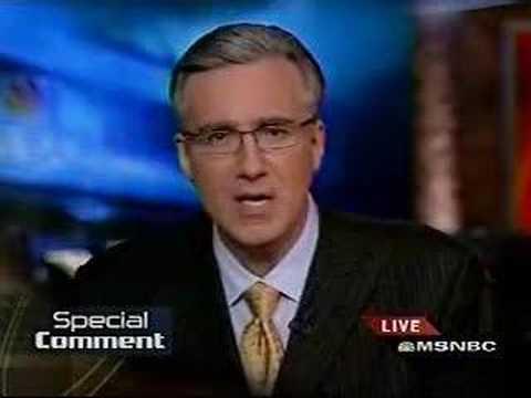 Keith Olbermann on Bill Clinton's Fox News interview