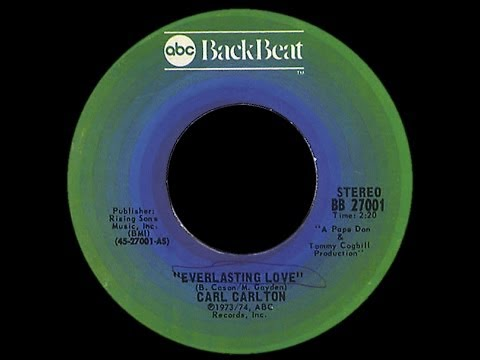 Carl Carlton ~ Everlasting Love 1974 Disco Purrfection Version...
