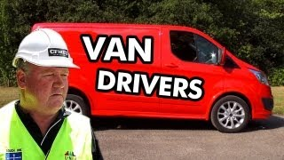 10 Reasons Why You Should Become A Van Driver
