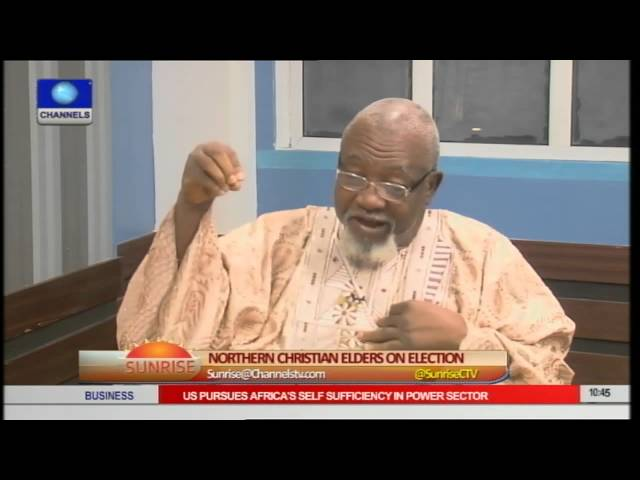 Sunrise: Northern Christian Elders Say Buhari Was Endorsed By Fake Elders pt 1
