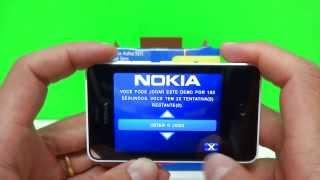 Nokia Asha 501 Branco || Unboxing e Review - Ótimo Custo X Benefício