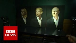 Election 2016: Russians hoping for President Trump - BBC News