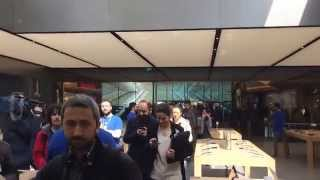 Apple Store Opening in Istanbul