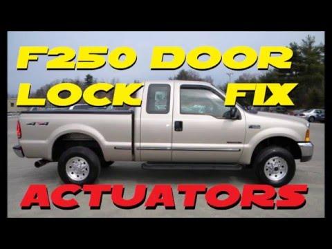 Ford F 250/350 power door lock repair  99-07