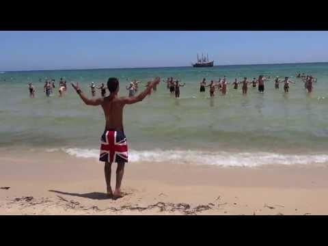 MARHABA BEACH HOTEL DANCING IN THE SEA