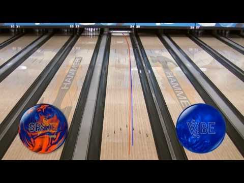 Hammer Spike Bowling Ball Video