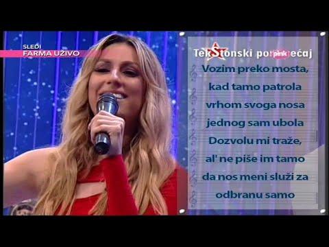 Ami G Show S08 - TekStonski poremecaj - Rada Manojlovic - Alkotest