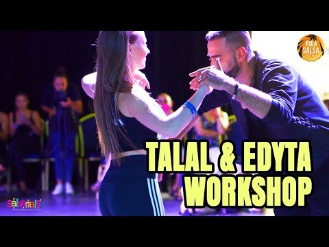 TALAL & EDYTA WORKSHOP DEMO (Riga Salsa Festival)