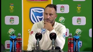 South Africa vs Sri Lanka | Faf du Plessis & Dimuth Karunaratne interviews