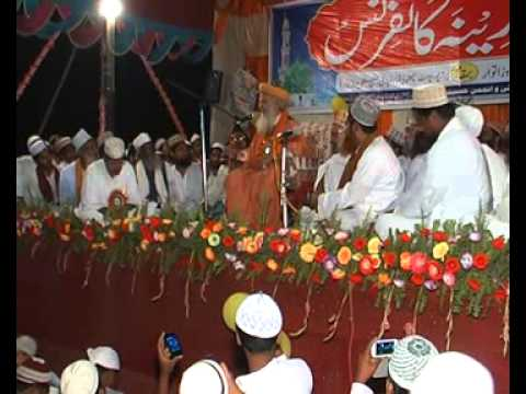 Latest Bayan Of Syed Hashmi Miyan 1 5 Sarkar-e-madeena Conference Paharpur 4th May 2014 video