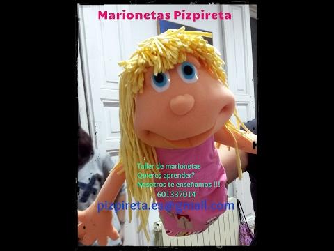 Taller marionetas Pizpireta - Marionetas de gomaespuma. - YouTube