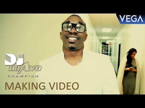 Dwayne Bravo's 2016 Latest Song Making Video
