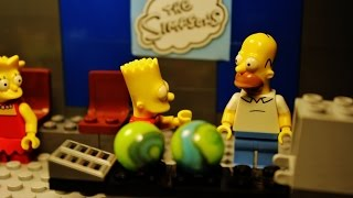 "LEGO Simpsons ""Bowling"""