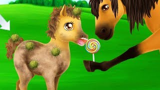 Princess Horse Club 3 Kids Game - Magical Horses Pet Care - Wedding Makeover Dress Up Fun Kids Games