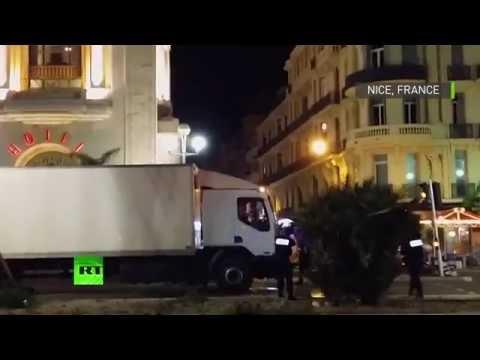 Le moment ou la police prend d'assaut le camion et tue le chauffeur (VIDEO CHOC)