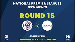 NPL NSW, Round 15, Manly United FC v Marconi Stallions FC NPLNSW