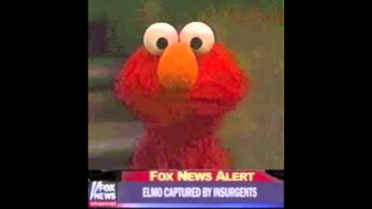 Evil Elmo With Gun Evi...