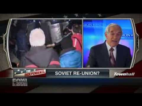 "Ron Paul: Putin has ""Law on His Side"" with Crimea Invasion"