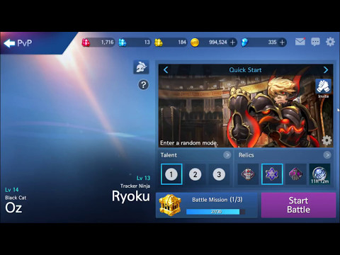 Arena Masters: Legend Begins - King of the Hill Gameplay HD / Oz + Ryoku Combo