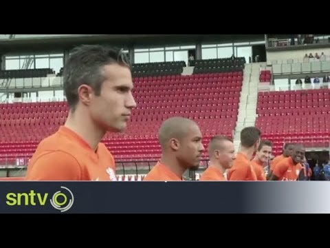 The Netherlands prepare for final World Cup friendly
