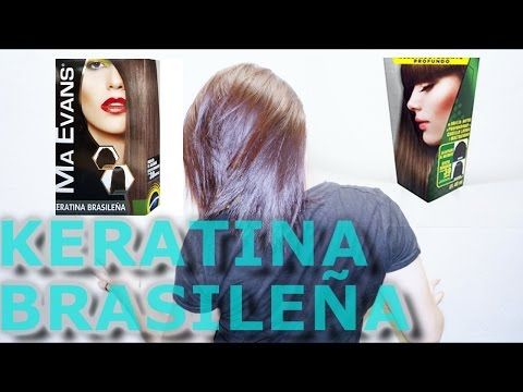 MA EVANS KERATINA BRASILEÑA   ALISADO CON KERATINA EN CASA
