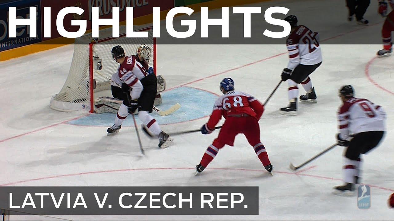 Jagr keeps Latvia in Czech | #IIHFWorlds 2015