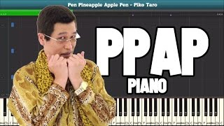 PPAP Pen Pineapple Apple Pen Piko Taro Piano Sheet Music Easy Piano Tutorial VideoMp4Mp3.Com