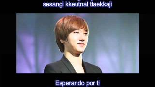 SuJu Yesung - Waiting For You - Rom + Subs Español
