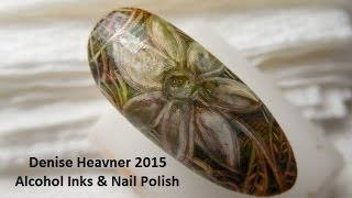 ALCOHOL INK---MAKE IT !!!!  ......for use in nail art ....DEMO too