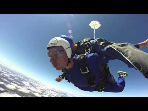 My SkyDive jump in Auckland - New Zealand (28.12.2015)