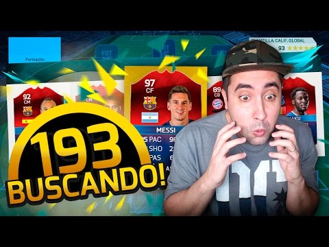 BUSCANDO  FUT DRAFT 193!!!  + SOBRES DE 50.000 - ULTIMATE TEAM FIFA 16