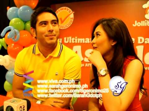 Sarah and Gerald's message for AshRald fans!