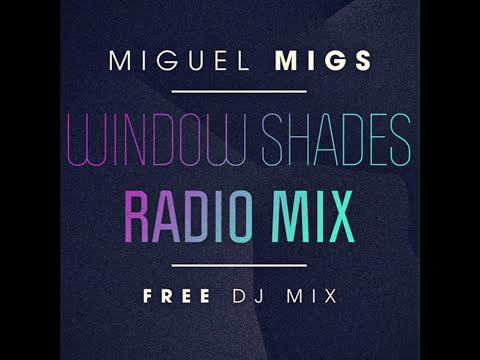 Miguel Migs - Window Shades, SALTED MUSIC radio mix LIVE