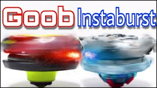 Goob VS Instaburst13 | Custom Beyblade Burst Battle