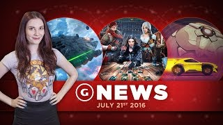 Huge Battlefront Update, Rocket League + Gwent Ready For PS4/Xbox Cross-Play! - GS Daily News
