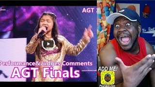 """Angelica Hale: 10-Year-Old Vocalist Stuns With """"Symphony"""" - America's Got Talent 2017 Reaction!"""