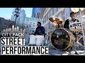 City Pack Street Performance With Rashid Williams