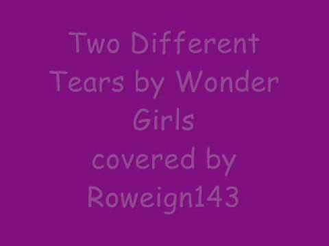 Two Different Tears By Wonder Girls Full Mandarin Cover By Roweign143 video
